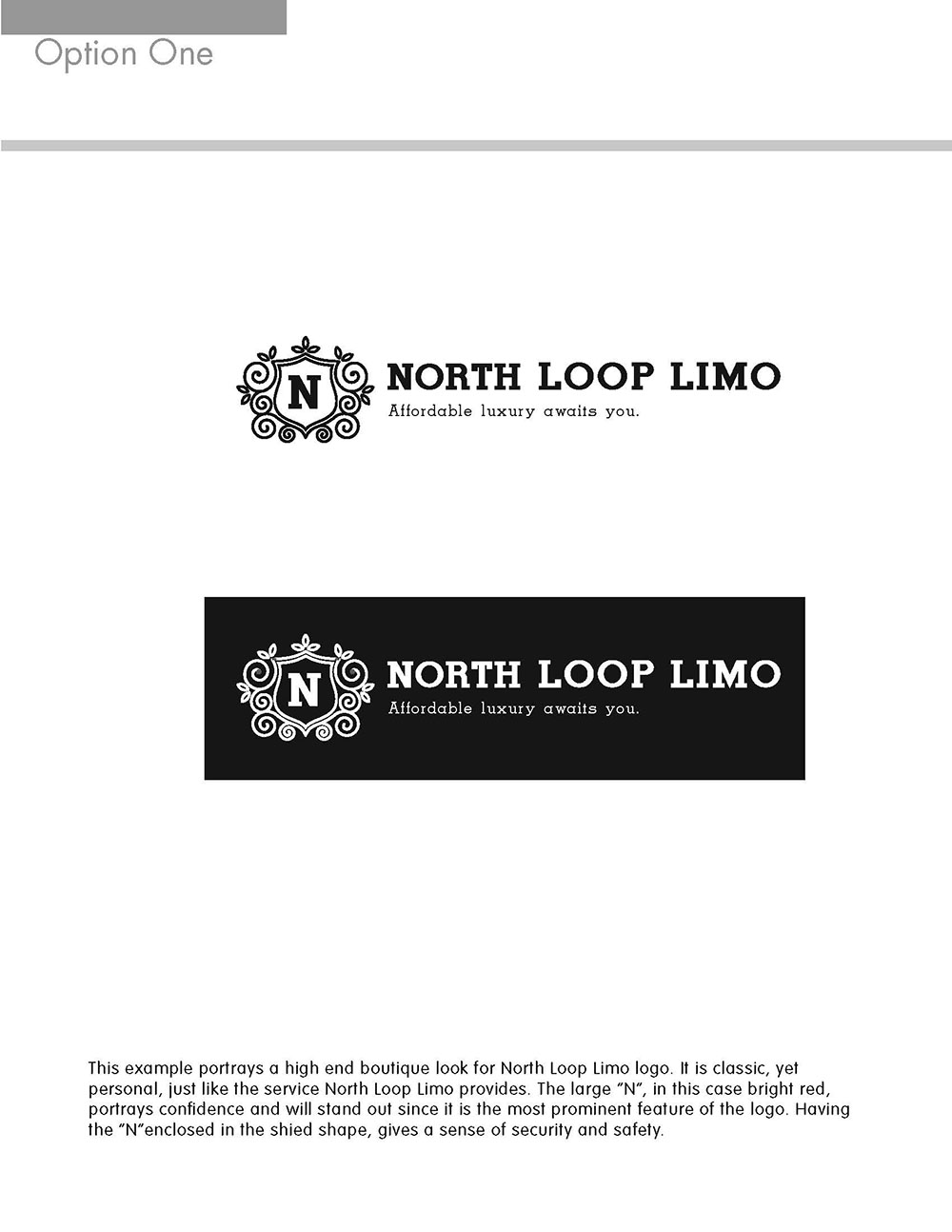 North Loop Limo Black and White