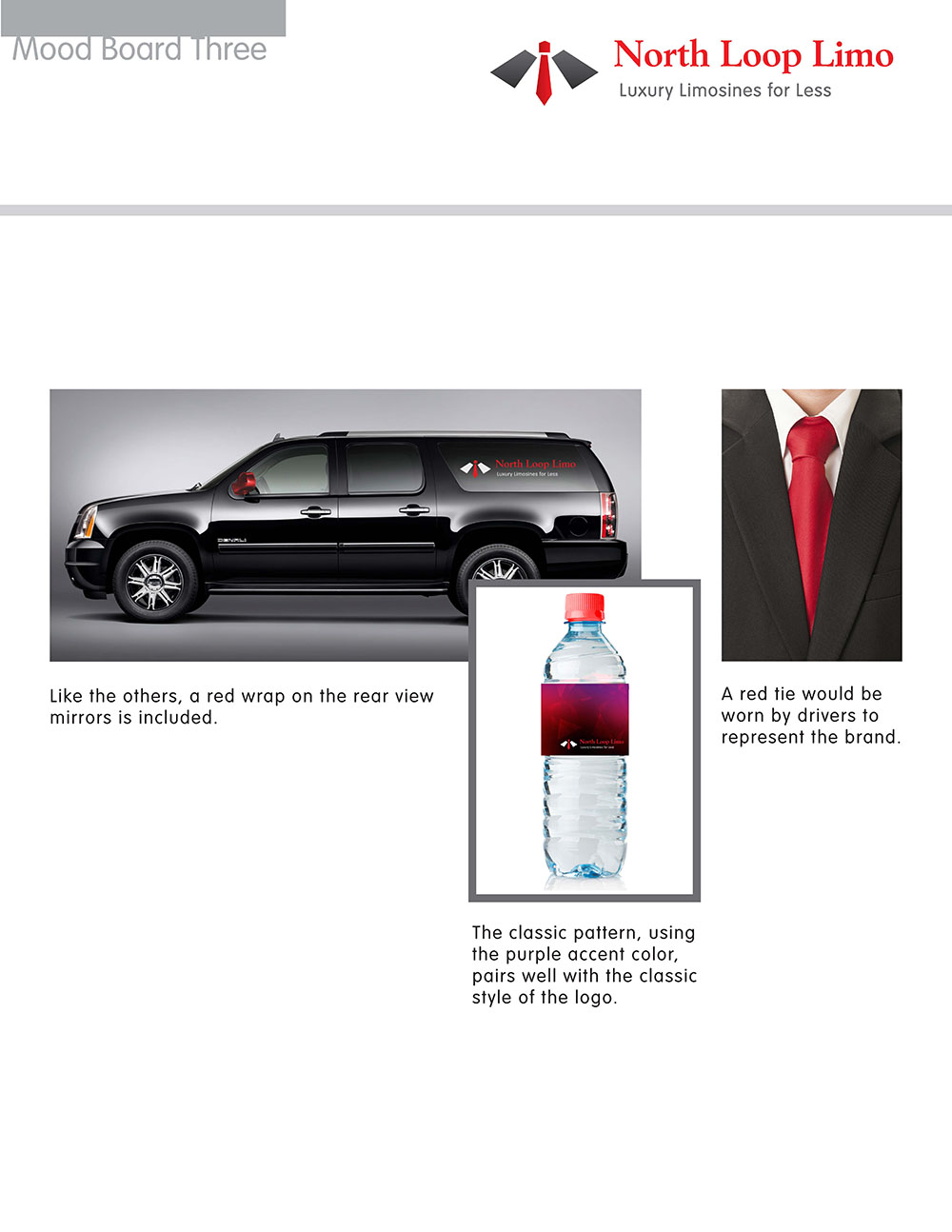 North Loop Limo Branding and Mood Boards