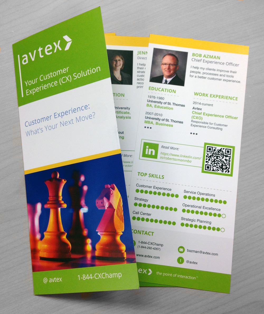 Avtex Customer Experience Brochure