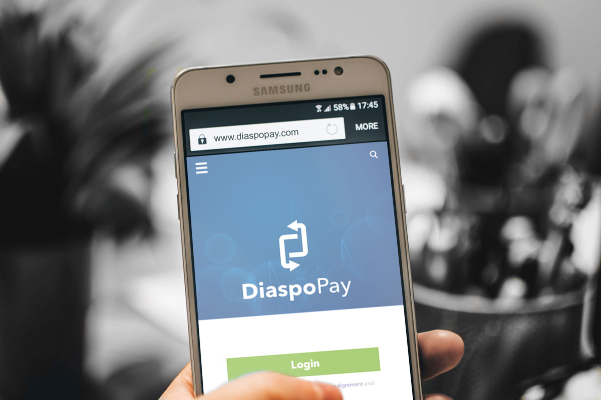 DiaspoPay Splash Screen