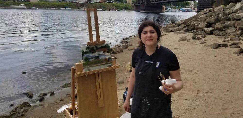Abbey Fitzgerald Plein Air Painter