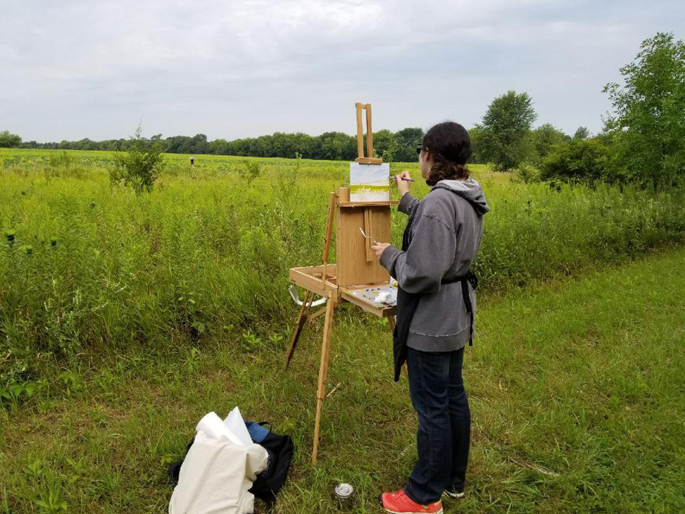 Abbey Fitzgerald Plein Air Painter