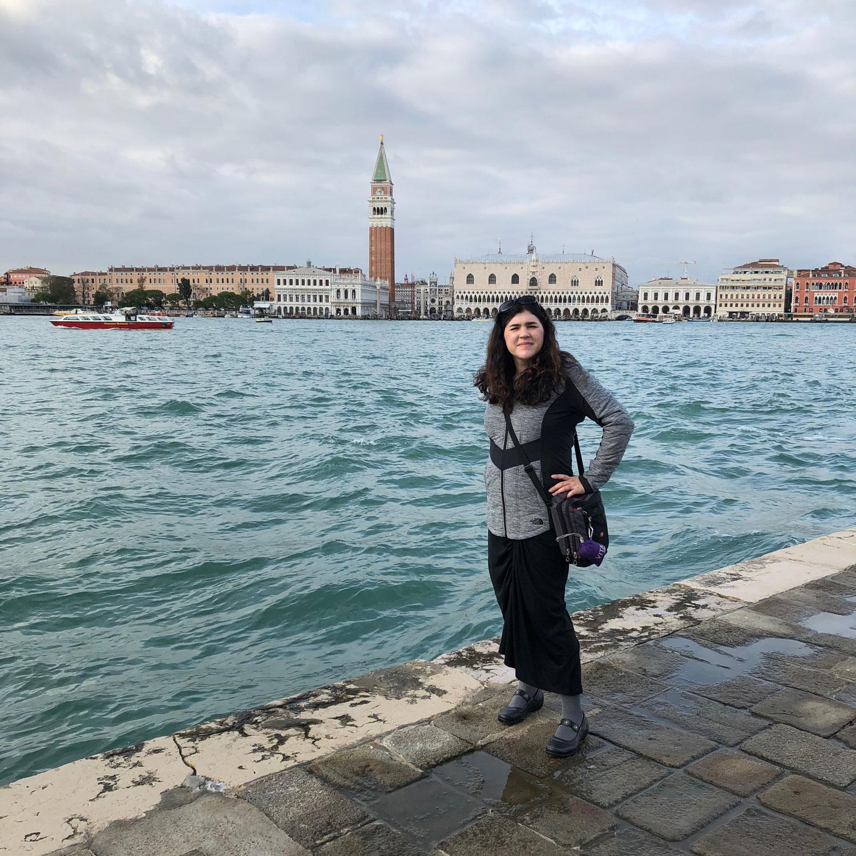 Abbey Fitzgerald Venice Italy